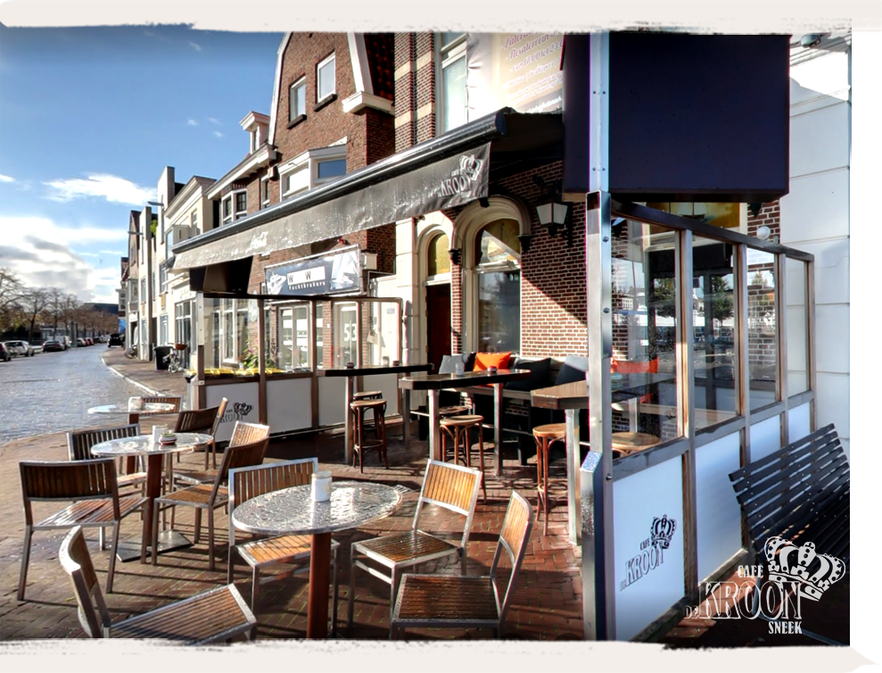 cafe de kroon terras