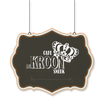 De Kroon - Uithangbord